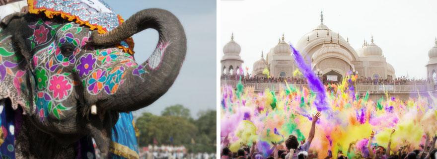 Holi Festival De Colores En India Descubriendo Destinos